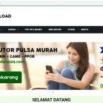 Jasa Pembuatan Website Agen Pulsa Metro Reload