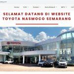 Jasa Pembuatan Website Dealer Toyota Semarang